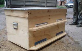 Разведение пчел в лежаках и многокорпусных ульях