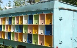 Кассетный павильон для пчел: конструкция павильона